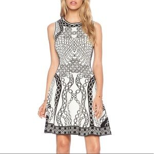 Diane von Furstenberg Knit Fit & Flare Dress NWT
